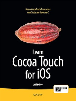 The cover art for my book, Learn Cocoa Touch for iOS